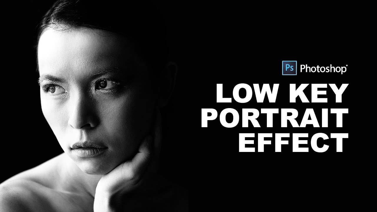 How to create low key lighting portrait effect in photoshop psdesire
