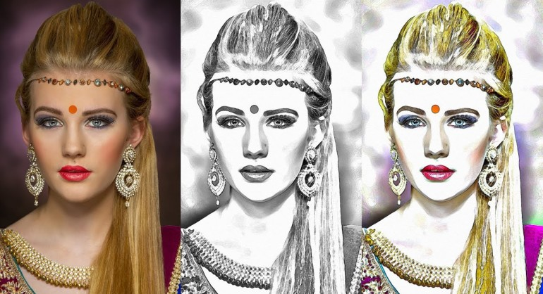 How to Transform Photos to Pencil Sketch Effect in Photoshop