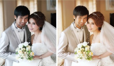 How to Add Color Haze & Tint to Wedding Photos in Photoshop