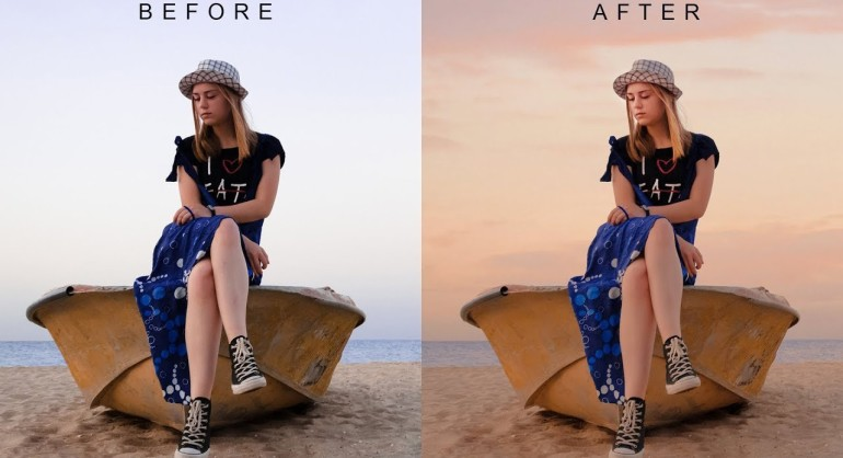 How to Change Evening Photos into Stunning in Photoshop