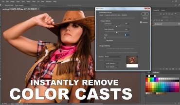 How to Instantly Remove Color Casts in Photoshop - Quickly and Easily