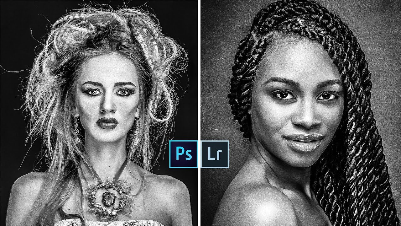 High Quality Strong Contrast Black & White Photos in Lightroom and Photoshop