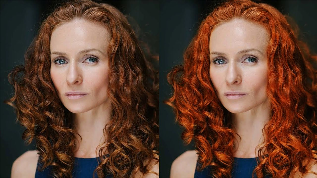 How to Change Hair Color with Curves in Photoshop - Quick & Easy