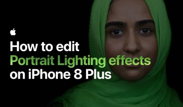 iPhone 8 Plus Tutorial - How to Apply Portrait Lighting Effect To Photos