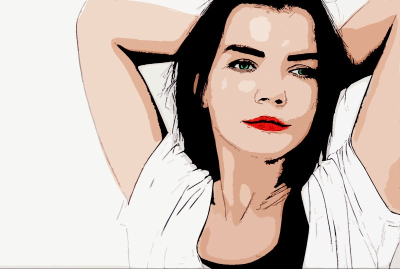 Photos To Vector Cartoon In Photoshop Without Pen Tool Psdesire