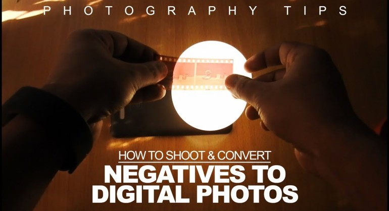 [DIY] How to Shoot & Convert Film Negatives to Digital Photo With DSLR Smartphone at Home