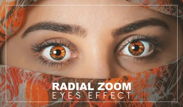 How to Add Radial Zoom Effect to Eyes in Photoshop - Making Iris Pop - Photoshopdesire.com