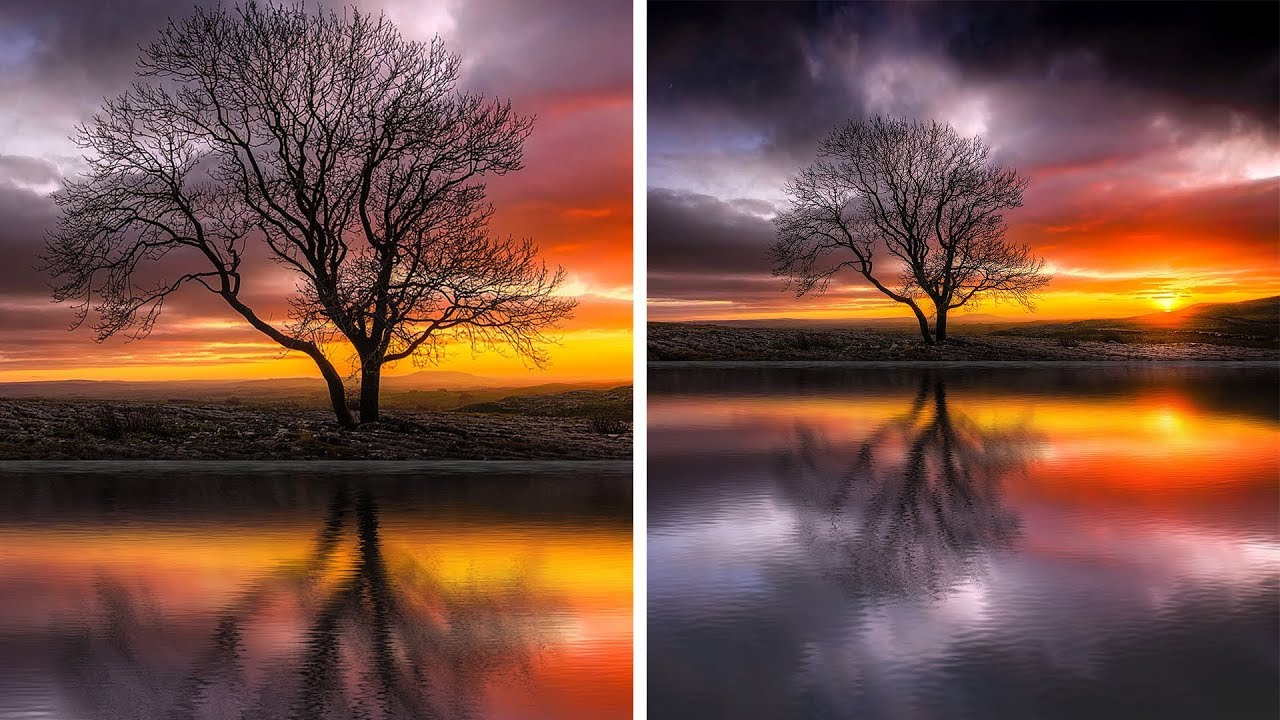 Manipulation tutorials for beginners pros psdesire how to create realistic waterscape photos in photoshop add water reflections effect to photos baditri Choice Image
