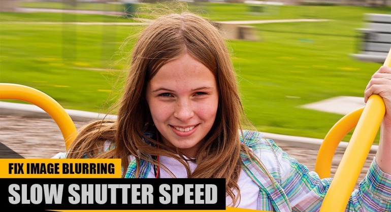 How to Fix Slow Shutter Speed Image Blurring in Photoshop