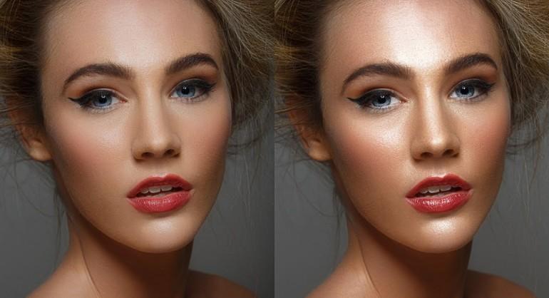 Simple Dodge & Burn Trick - Sculpting the Face Technique in Photoshop