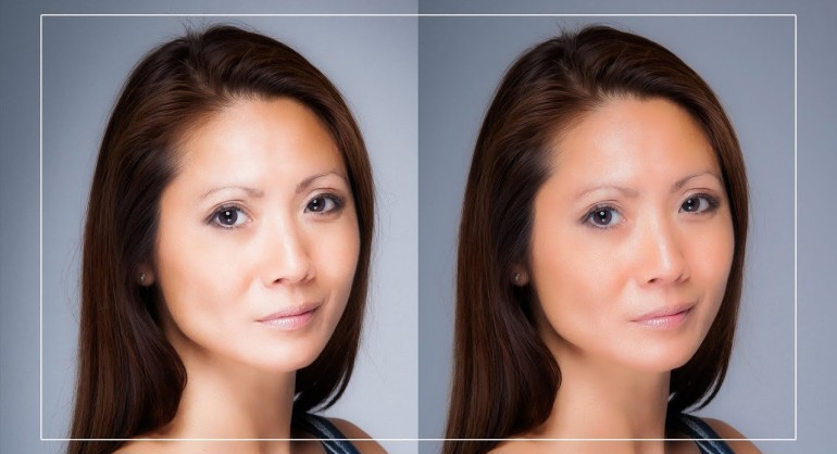 2 Ways to Correct Skin Tones in Photoshop - Tone Down Highlights & Flash Spots