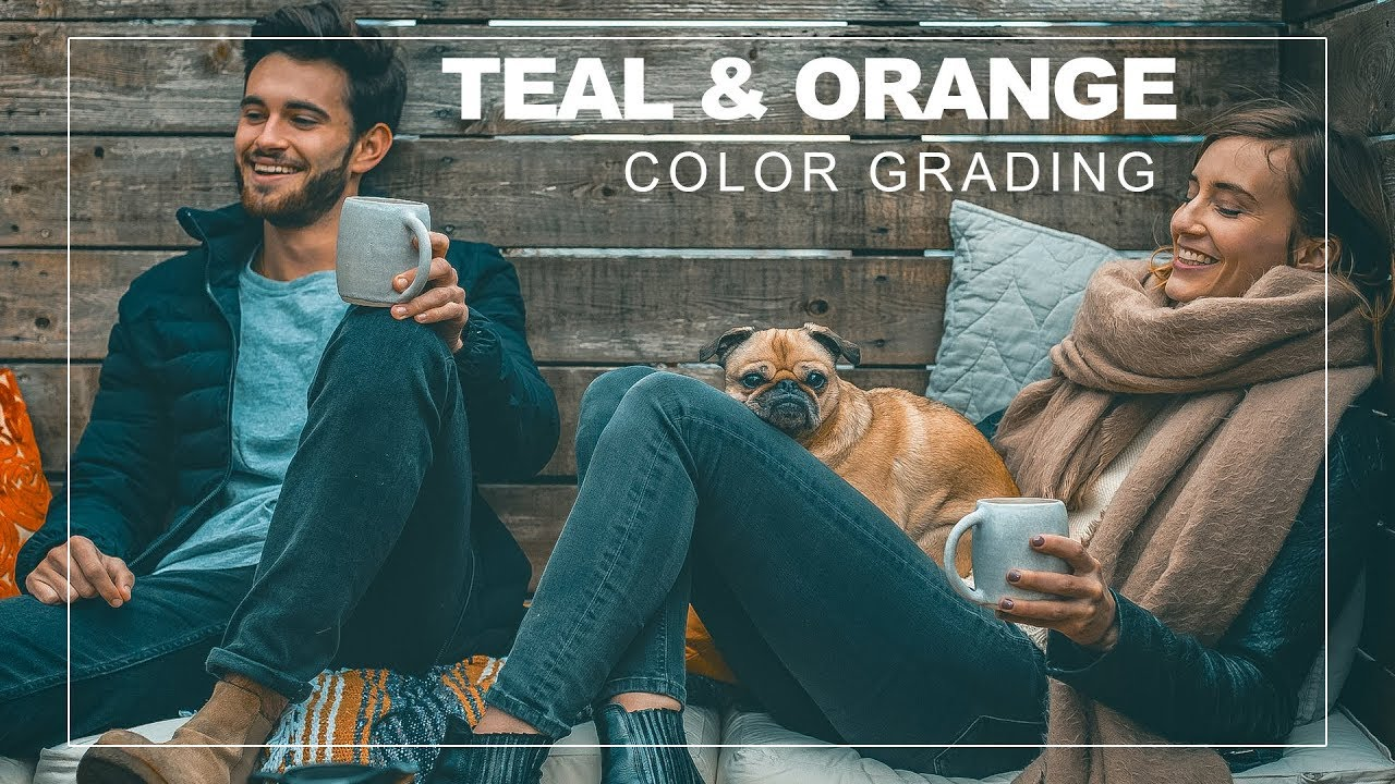 Teal and Yellow Color Grading Effect in Photoshop With Free Camera Raw & Lightroom Preset