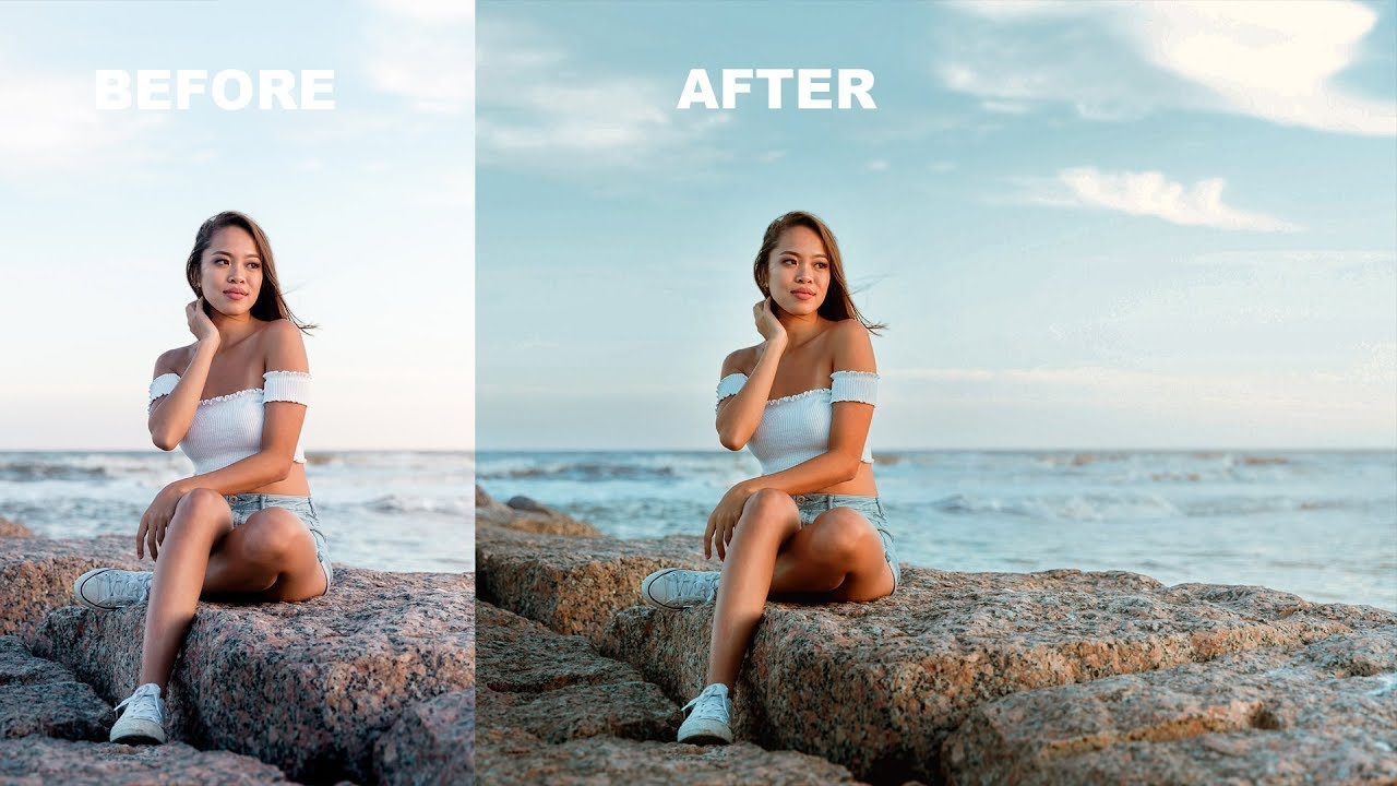 How to Recover Highlight Details and Color Tone Using Apply Image in Photoshop