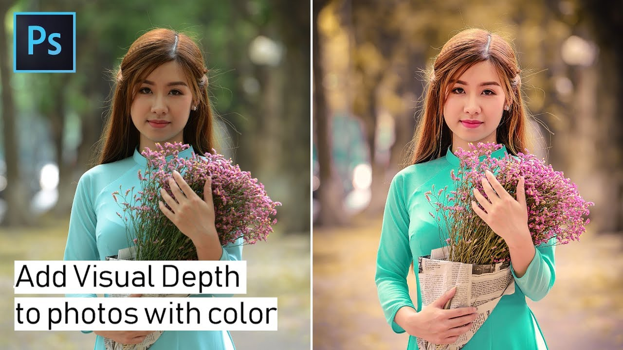 Create Visual Depth to Photos with Colors in Photoshop and Lightroom