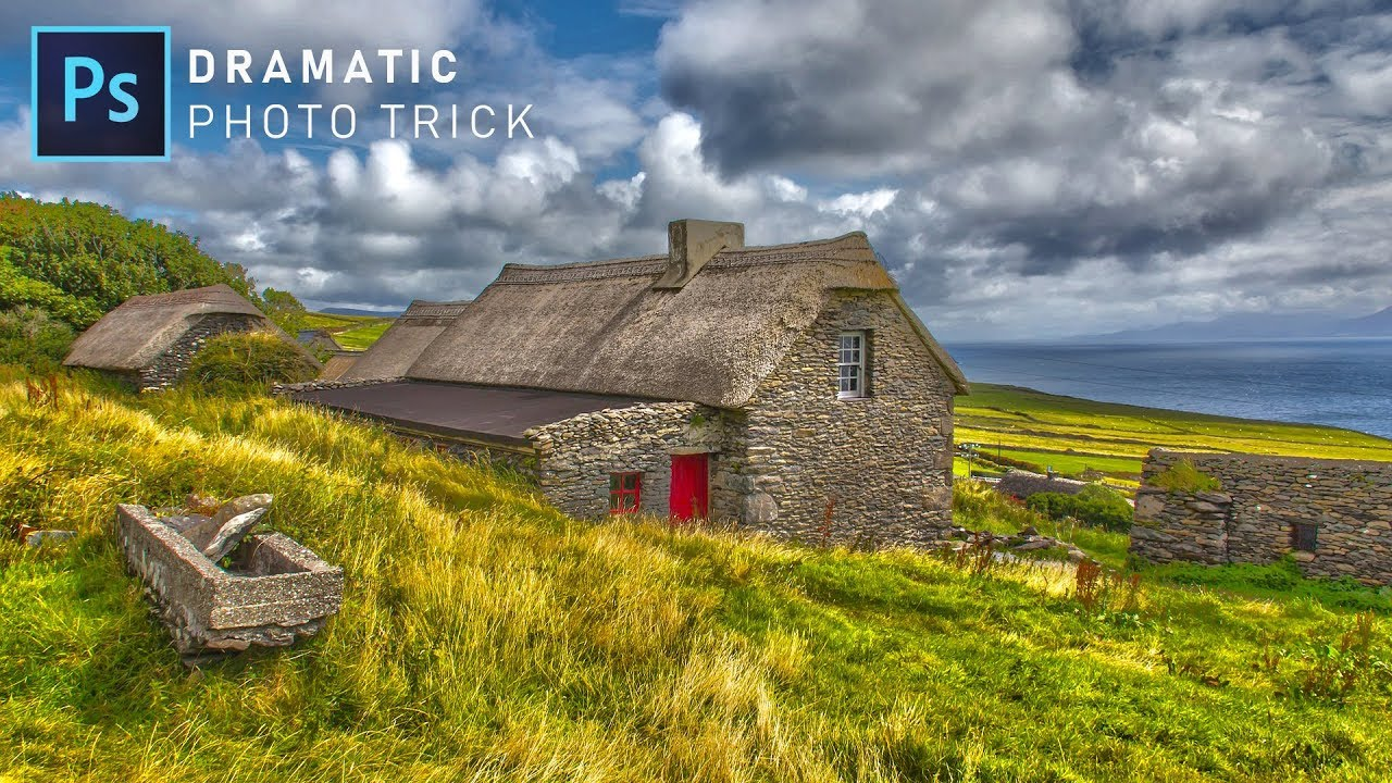 How to Create Amazing Dramatic HDR Photos in Photoshop